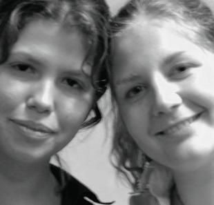 Kim-Jenna Jurriaans and Jeanne Kay