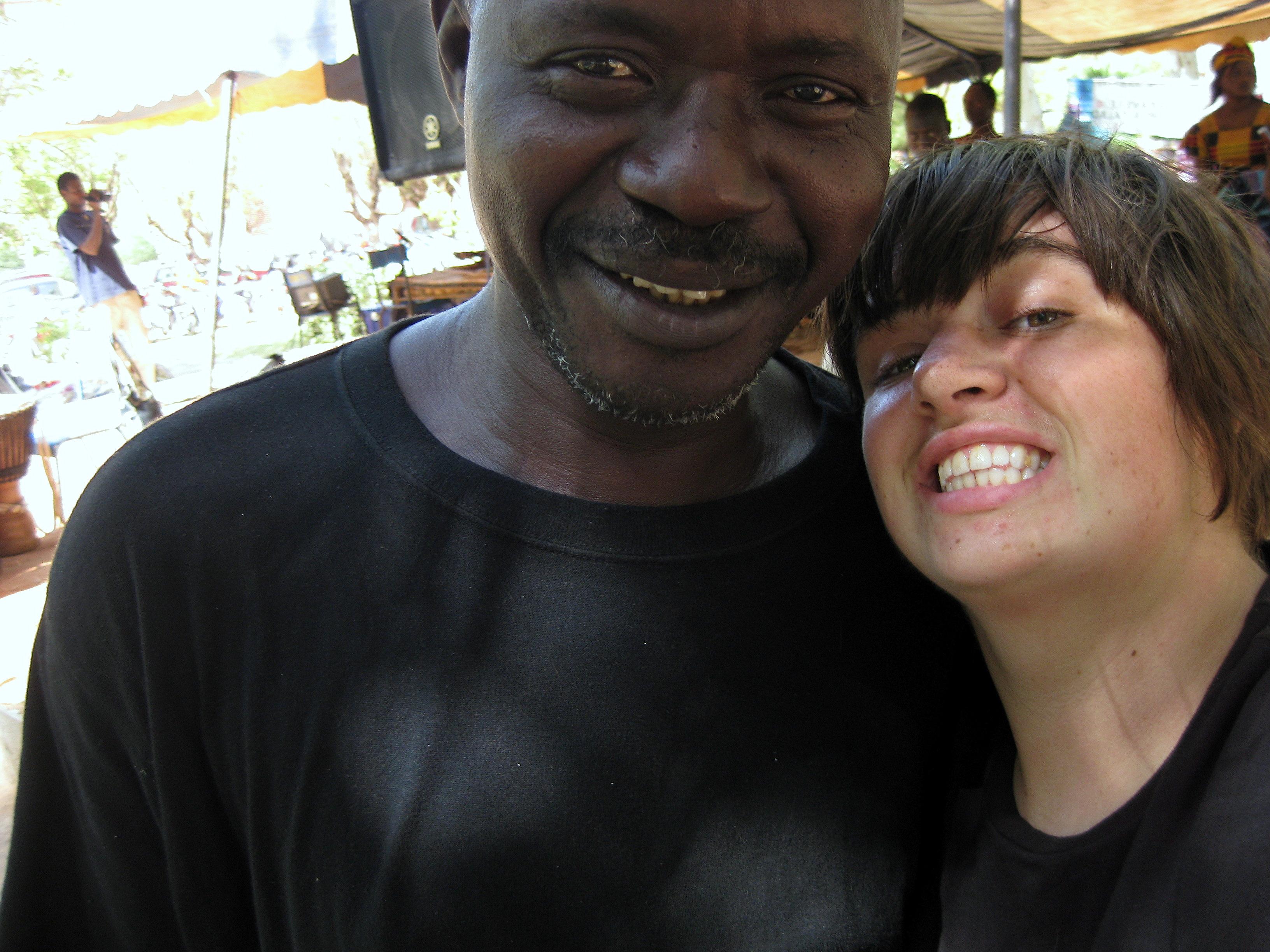 Shea Witzberger in Mali